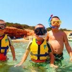 Snorkelen op diverse locaties op Kreta Griekenland