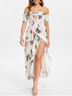 GET $50 NOW | Join RoseGal: Get YOUR $50 NOW!https://m.rosegal.com/print-dresses/off-the-shoulder-floral-print-maxi-dress-2254170.html?seid=9778517rg2254170