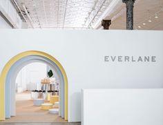 everlane and robert storey crafts interactive shoe park in new york