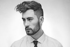 How to Style a Modern Pompadour... Read the full article on The Idle Man Manual