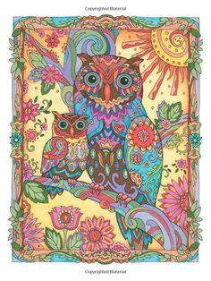 Creative Haven Owls Coloring Book (Creative Haven Coloring Books): Marjorie Sarnat: 9780486796642: Amazon.com: Books