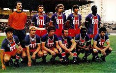 EQUIPOS DE FÚTBOL: PARIS SAINT-GERMAIN 1977-78