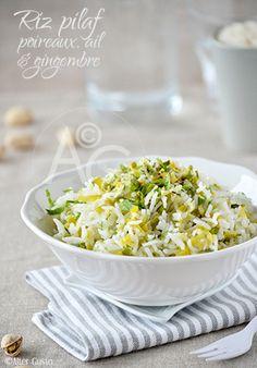 Je ne suis pas super fan de riz… Cuit simplement à l'eau, il me laisse indifférente ! Et même je ne l'aime pas trop… Par contre, avec quelques petits ajouts et une cuisson pilaf, je me régale ! Voilà… En...