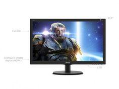 """Monitor Philips LED 21,5"""" Full HD Widescreen - 223G5LHSB com as melhores condições você encontra no Magazine Dufrom. Confira!"""