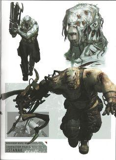 Resident evil: ustanak concept art video game shenanigans re Resident Evil Monsters, Resident Evil Game, Hayao Miyazaki, Silent Hill Art, Monster Co, Evil Art, Evil World, Zombie Art, Medieval Fantasy