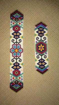 18194766 Indian Style Beading Pattern Peyote Bracelet Pattern Seed Bead Pattern Ethnic Style Even Count Peyote Flat Peyote Bracelet Wide Cuff Pattern Bead Loom Patterns, Peyote Patterns, Jewelry Patterns, Bracelet Patterns, Beading Patterns, Bead Loom Bracelets, Beaded Wrap Bracelets, Indian Beadwork, Beaded Jewelry