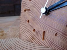 Little pine resin clock natural color with by RenovatioImperii