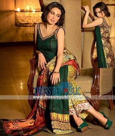 Pakistani Dresses For Evening Parties And Functions By Asim Jofa | Lawn