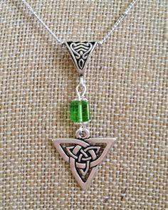 Celtic Necklace by joytoyou41 on Etsy, $28.00