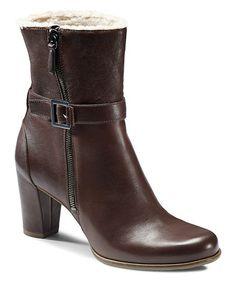 {Espresso Pretoria Buckle Boot by ECCO} Stylish and warm #zulily #ad *Want...