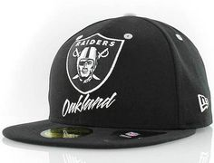 NEW ERA x NFL「Oakland Raiders Retro Team Namet」59Fifty Fitted Baseball Cap  Fitted 5366e4b49