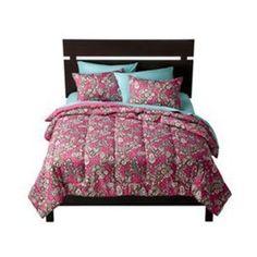 Floral comforter set. $34.99 at Target.
