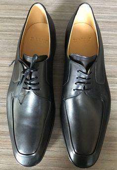 New BALLY SWITZERLAND NEWLAND APRON TOE DERBY Shoes size 11 $525 #Bally #Oxfords