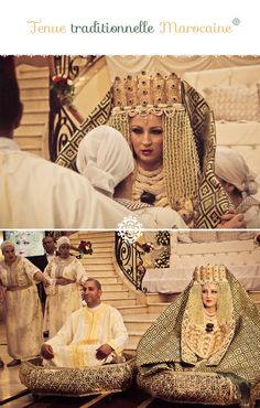 Un mariage au Maroc #marocco #wedding #oriental lol si jamais je porte ça je risque d'être invalide pendant au moins un mois! Trop lourd et avec mes 49 kgs XD  Mm si je veux grossir je n'y arrive pas!!!!