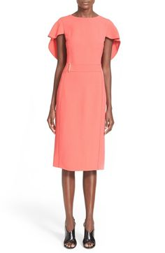 JASON WU Cape Sheath Dress. #jasonwu #cloth #