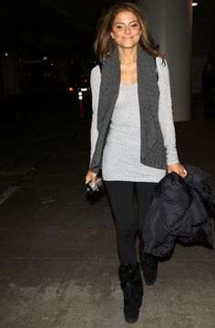 Airport style by Maria Menounos