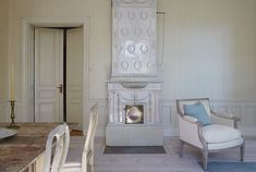 Gustavian Style - A Higher End looking Swedish style (vs Scandinavian Country Style)