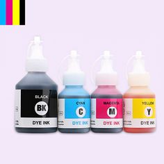 CMYK Compatible For Brother Ink DCP-T500W T300 T800W T700W Filling the ink Reservoir CISS ink Discount Printer Ink Cheap Printer