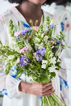 His eponymous brand is famous for their floral prints and beautiful details, so it's hardly surprising that Creative Director Johnnie Boden is a flower fanatic. We collaborated on a bouquet inspired by their spring collection, that's simply a garden party for the eyes.