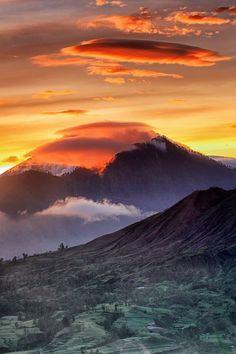 Batur Vulcano, Indonesia