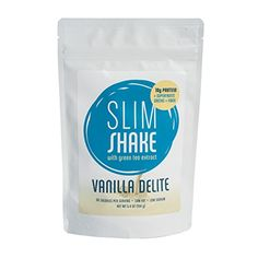 Slim Shake, Proteins (10g)   Superfruits   Greens   Fiber, Drink Mix Powder (Vanilla Delite) ** More info could be found at the image url.  This link participates in Amazon Service LLC Associates Program, a program designed to let participant earn advertising fees by advertising and linking to Amazon.com.