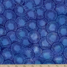 Bali Chop Handpaints Cotton Fabric - Lapis K2490-123 by Beverlys.com