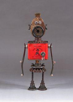 multiples récup métal + idée = robot par CASTOFCHARACTERS