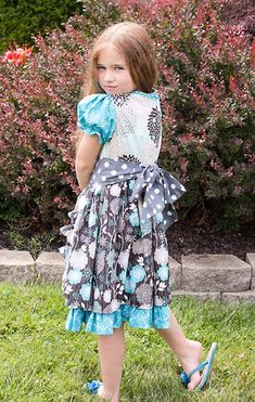 The Amelie Dress PDF Sewing Pattern Size 12 month - 8 Girls Toddler Little Girl Dresses, Flower Girl Dresses, Curtain Patterns, Layered Skirt, Pdf Sewing Patterns, Amelie, Digital Pattern, Sewing Clothes, Toddler Girl