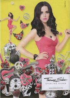 Katy Perry models for Thomas Sabo