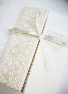 Rebecca Lancaster Designs - Vintage Lace Wedding Stationery