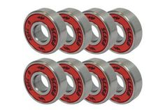 ABEC 9 Bearings Skateboard Longboard Spinner Red Silver 1 Set of Skate Bearings, Skateboard Bearings, Skateboard Decks, Blank Skateboards, Have A Nice Trip, Biker Boys, Skate Shop, Bike Life, Just Giving