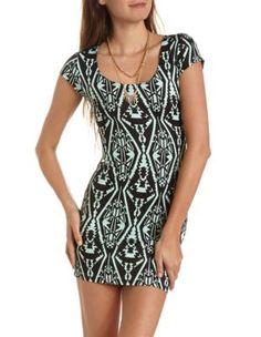 zip-back scuba body-con dress