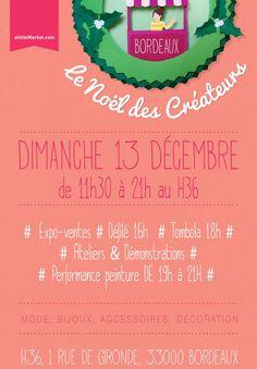 Le Noël des Créateurs au H36 Super programme pour cette journée à laquelle L ... sa muse KIDS participe avec joie.