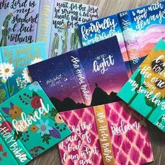 Can't wait to get these home to you Hand painted bible Scripture Art, Bible Art, Bible Quotes, Scripture Journal, Art Journaling, Bibel Journal, Jesus Art, Bible Covers, Illustrated Faith