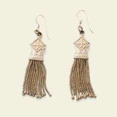 Victorian Tassel Earrings, $650.00