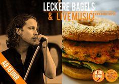 Und schon wieder ist es soweit :-) #OpenStage mit #LiveMusic im Fresh Bagels & Muffins  ab 18 Uhr.  Also, bis gleich im #bagelshop  www.bagelshop.de