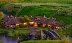 """Die schönste Städte der Welt -- Hobbit Dorf """"Herr der Ringe"""" Filmdrehort in Neu Seeland"""
