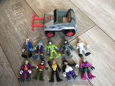 Imaginext Super Hero Collection Bundle Marvel And Dc Batman Etc Loads Here