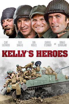 Los violentos de Kelly (Kelly's Heroes, 1970, Brian G. Hutton)                                                                                                                                                                                 Más