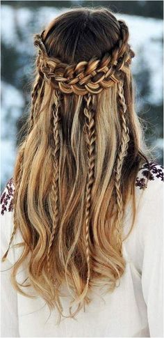 #Hairstyles #LongHairstyles The Ultimate Hairstyle Handbook Everyday Hairstyles for the Everyday Girl Braids, Buns, and Twists! Step-by-Step Tutorials, Click to See More...