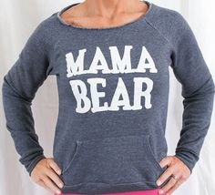 mama bear hoodie sweatshirt. Mama Bear by SheSquatsClothing
