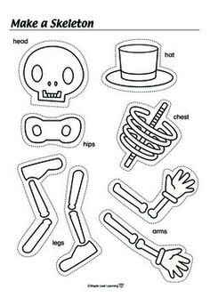 Halloween Skeleton Activity-fun reinforcer and could be a dice activity too to choose favorite songs or activities: Free! Halloween Skeleton Activity-fun reinforcer and could be a dice activity too to choose favorite songs or activities: Theme Halloween, Halloween Songs, Halloween Activities For Kids, Holiday Activities, Spooky Halloween, Holidays Halloween, Holiday Crafts, Spooky Spooky, Holloween Ideas For Kids