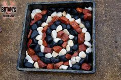 Whoa...people are pinning this tray paver idea like crazy and you will instantly see why: