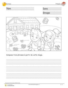 French Teaching Resources, Teaching French, French Language Lessons, French Lessons, French Worksheets, French Education, French Classroom, French School, French Teacher