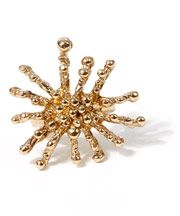 Gold-Tone Starfish Ring
