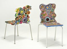 Quilling gone big! Functional art chairs, works by Fernando & Humberto Campana Arte Quilling, Quilling Designs, Paper Quilling, Funky Furniture, Art Furniture, Vitra Chair, Paper Art, Paper Crafts, Vitra Design Museum
