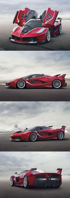 Awesome Ferrari 2017: What the FXX K Say hello to this bad boy, the Ferrari FXX K - a hardcore 1021bhp...  Macchine