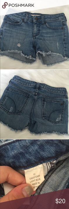 Girls Joes Jeans Shorts Excellent used condition, like new. Girls Joes Jeans Shorts size 10. All sales final Joe's Jeans Bottoms Shorts