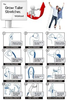 stretching exercises with pictures | Performing these stretches will help you grow taller