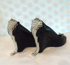 My favorite pair. Love them!!  Custom made, One of a Kind, MADE TO ORDER with vintage jewelry n hardware
